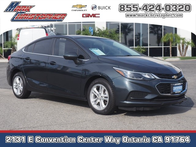 Certified Pre-Owned 2018 Chevrolet Cruze 4dr Sdn 1.4L LT w/1SD