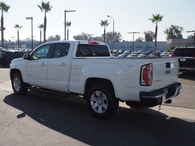 Certified Pre-Owned 2016 GMC Canyon 4WD Crew Cab 140.5 SLE