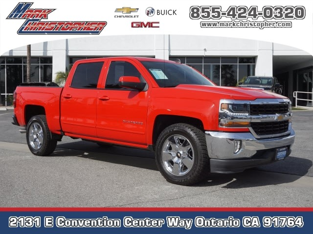 Certified Pre-Owned 2017 Chevrolet Silverado 1500 2WD Crew Cab 143.5 LT w/1LT