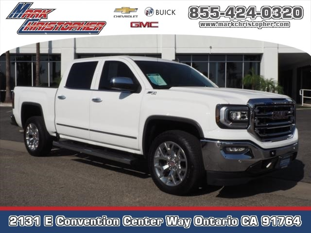 Certified Pre-Owned 2018 GMC Sierra 1500 4WD Crew Cab 143.5 SLT