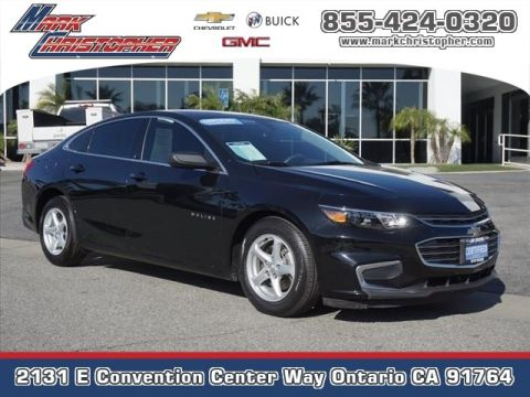 Certified Pre-Owned 2017 Chevrolet Malibu 4dr Sdn LS w/1LS