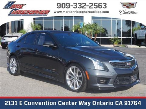 Certified Pre-Owned 2016 Cadillac ATS-V 4dr Sdn