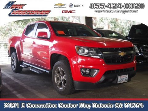 Certified Pre-Owned 2017 Chevrolet Colorado 2WD Crew Cab 128.3 Z71