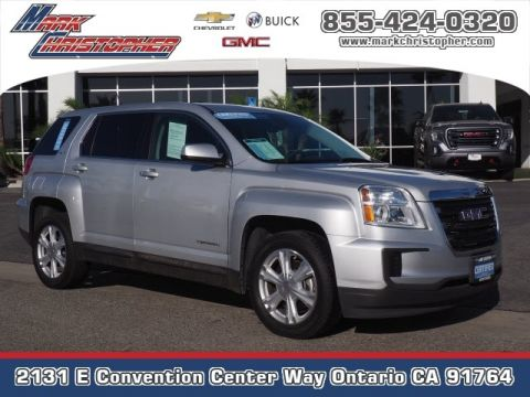 Certified Pre-Owned 2017 GMC Terrain FWD 4dr SLE w/SLE-1